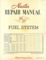 1949-1951 Ford Fuel System Manual