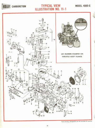 holley  exploded diagrams   car manual project