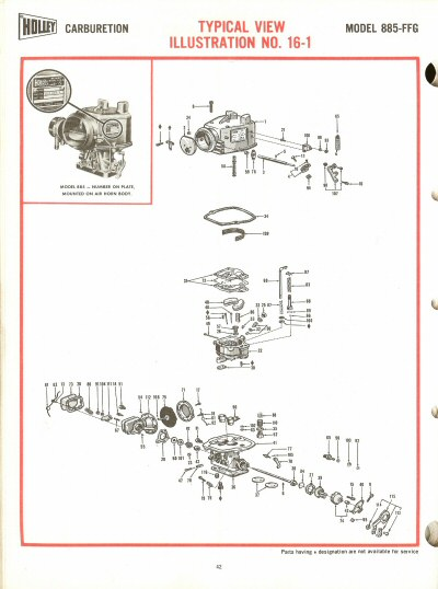 Holley 885ffg Exploded Diagrams