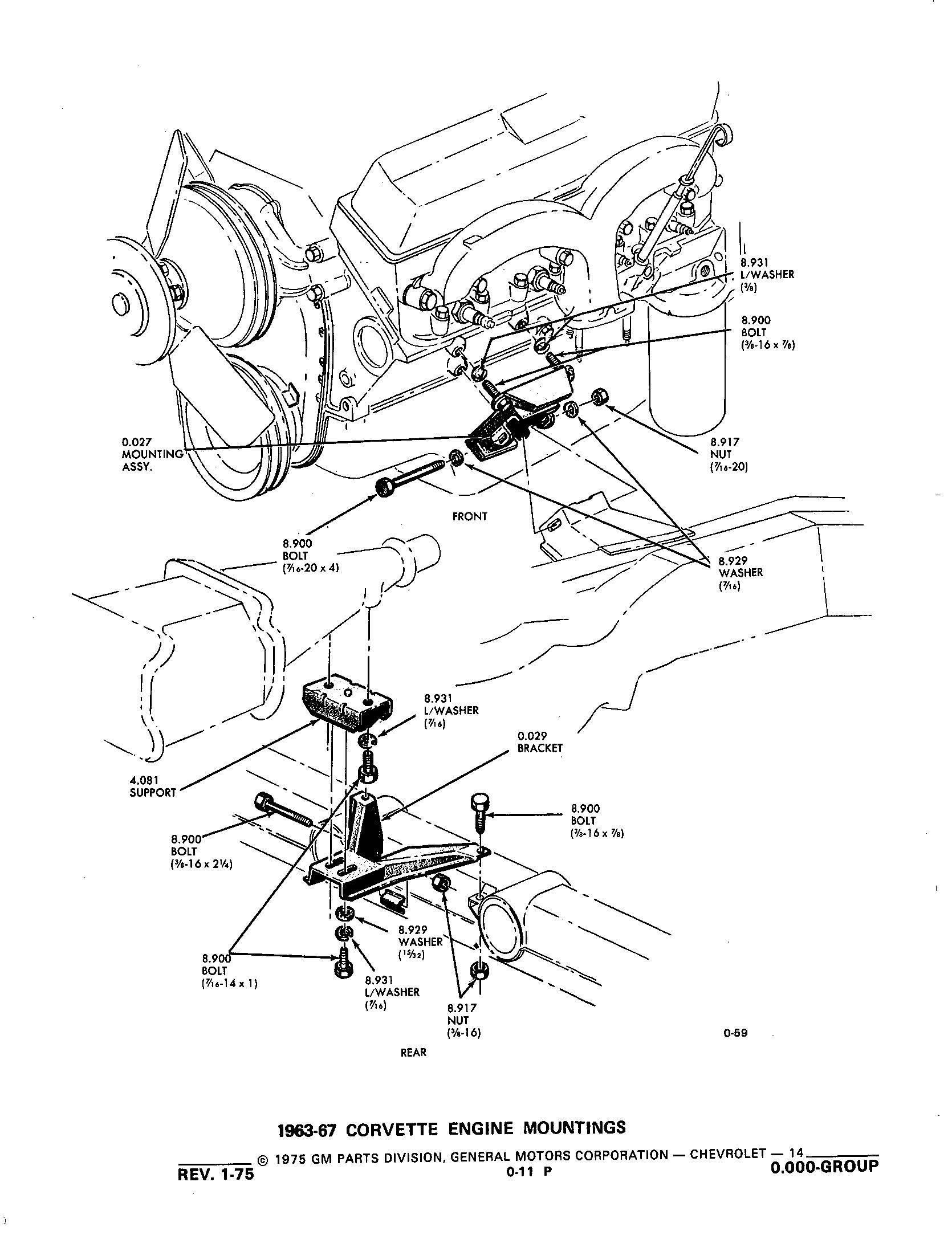group 0 000 engine clutch53  1953