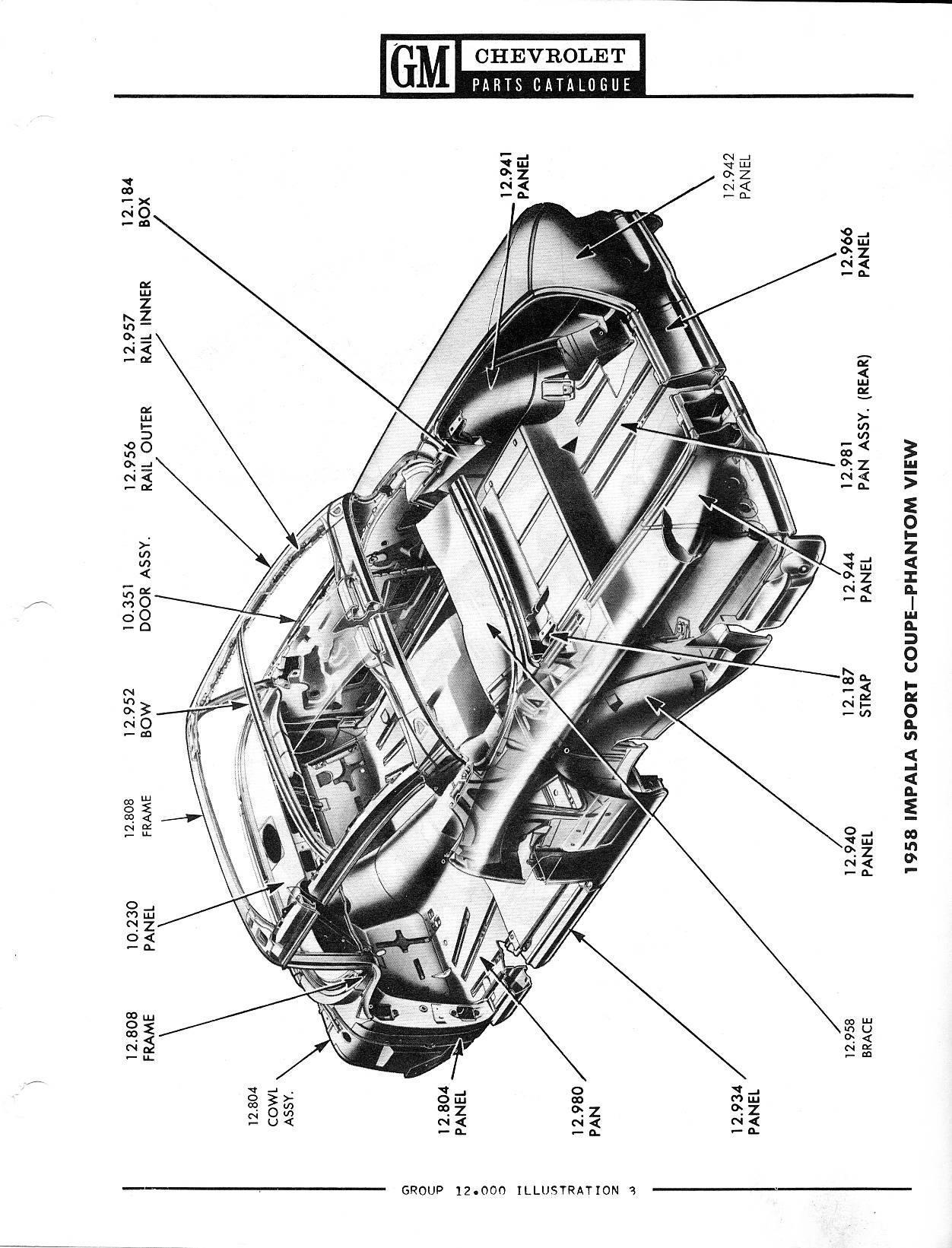 1958 chevy car parts  chevy  autosmoviles com