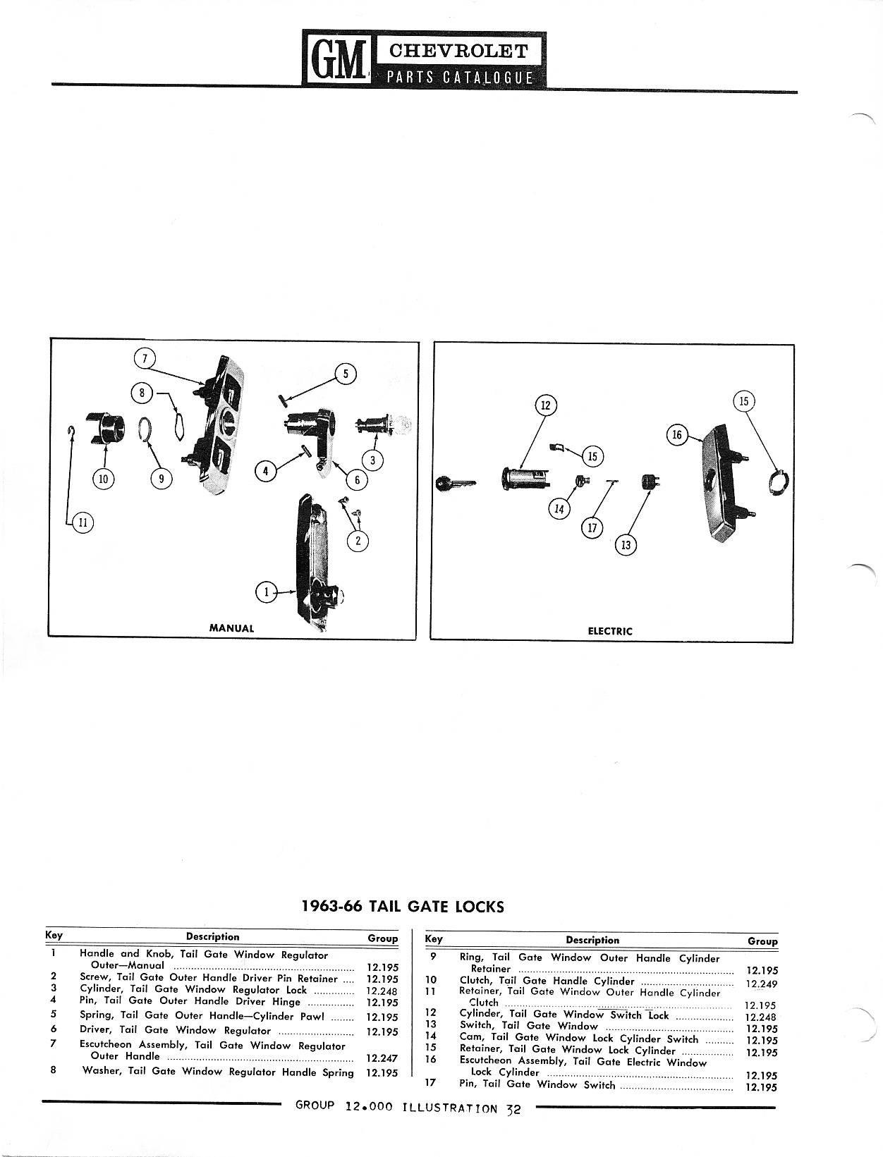 Chevrolet Car Parts Catalog