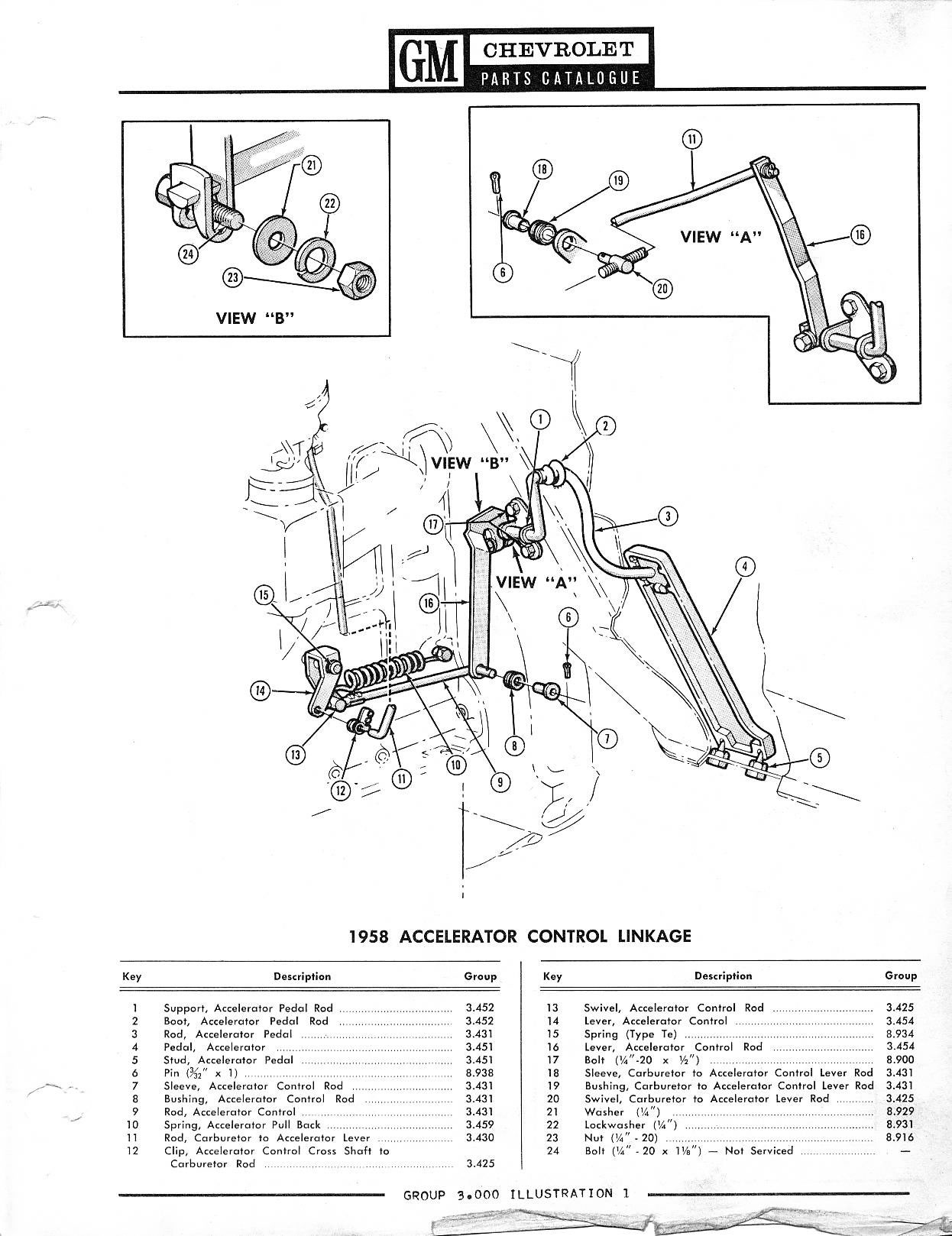 1946 chevy pickup parts catalog