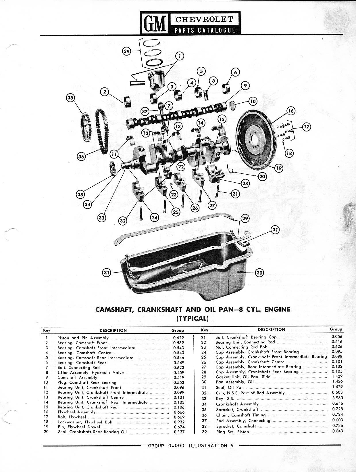 1958 chevrolet parts