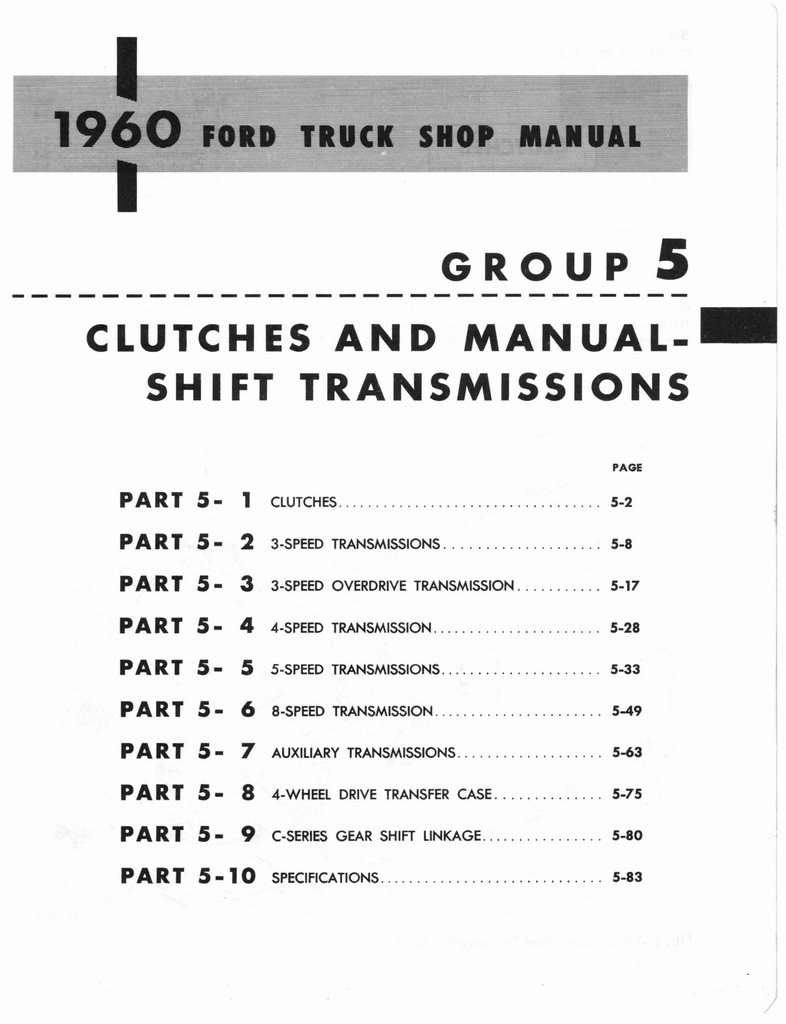 Ford Truck Shop Manual Wiring Diagram Gmc Coloring Pages 1960 In Cars99 Pics Array And Mercury Page 212 Of 641 Rh Oldcarmanualproject Com