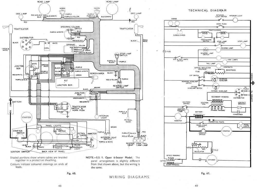 1958 opel wiring diagram 1958 jaguar wiring diagram #8