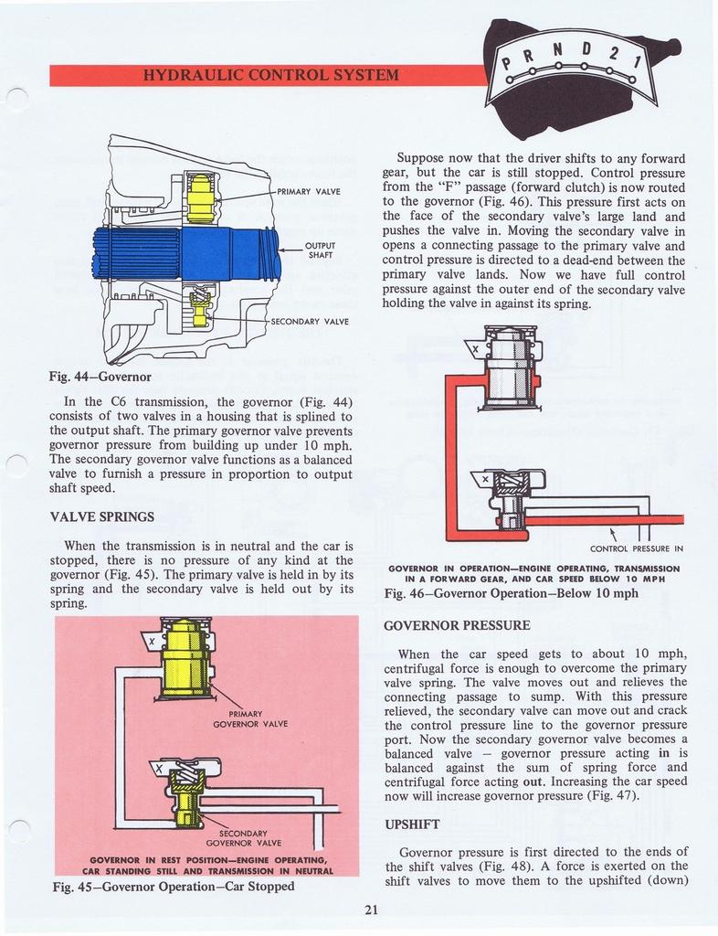 1970 Ford C6 Automatic Transmission Training Handbook 35 Of 58 N 035