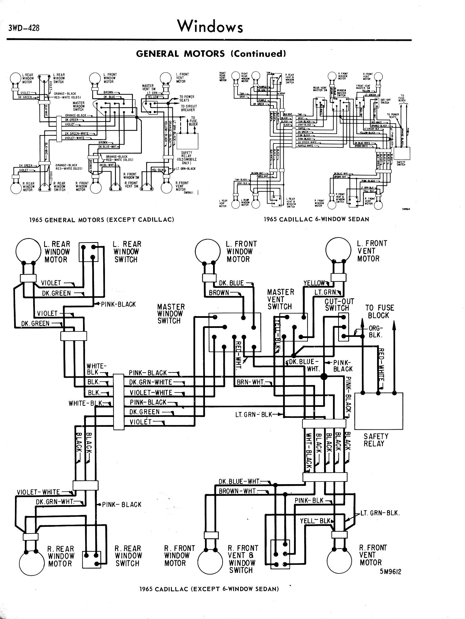 3WD 428 on car wiring diagrams