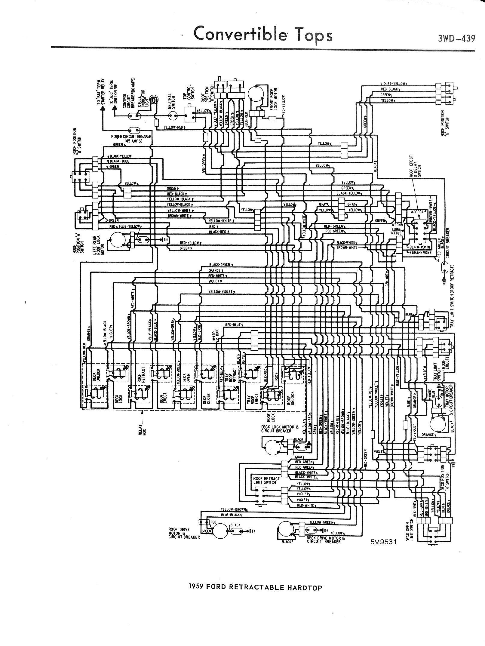 3WD 439 on wiring diagram home