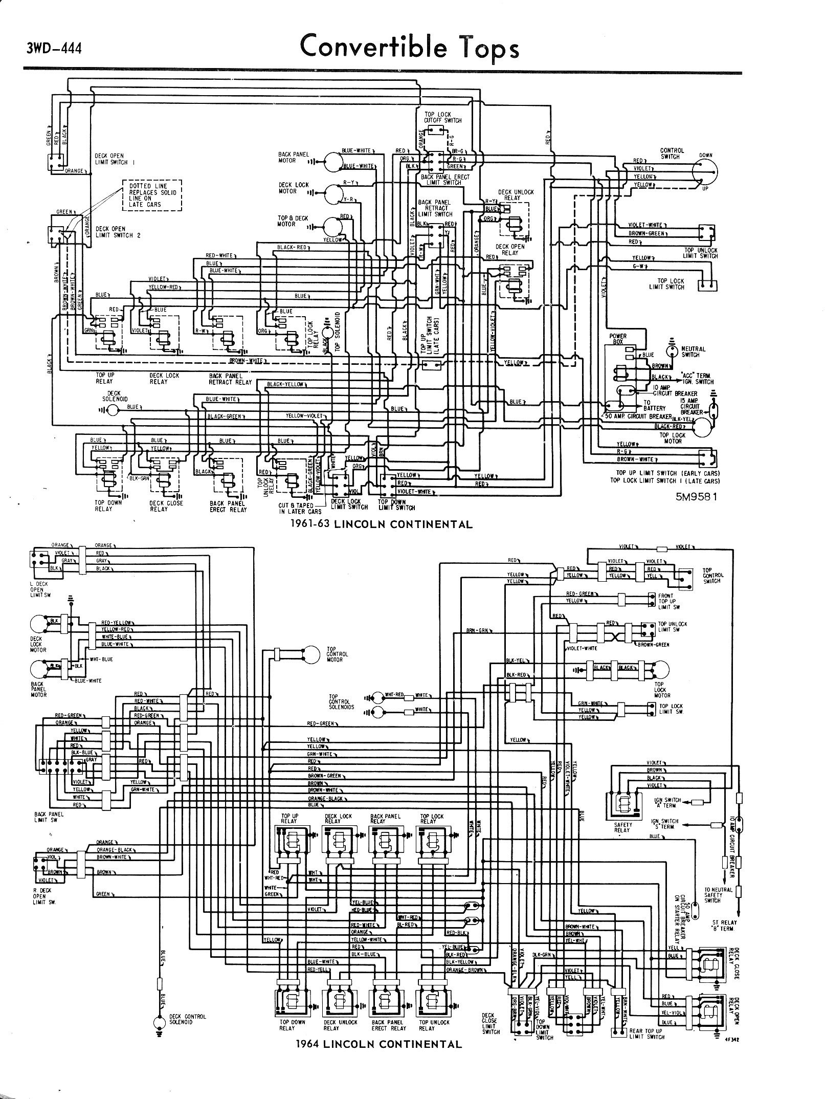 1957 1965 accessory wiring diagrams 3wd. Black Bedroom ...