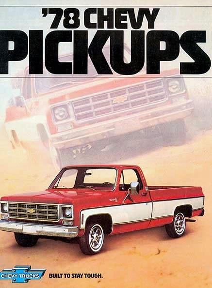 Old Chevy Trucks >> Chevrolet Trucks / 78Chevrolet01-or.jpg