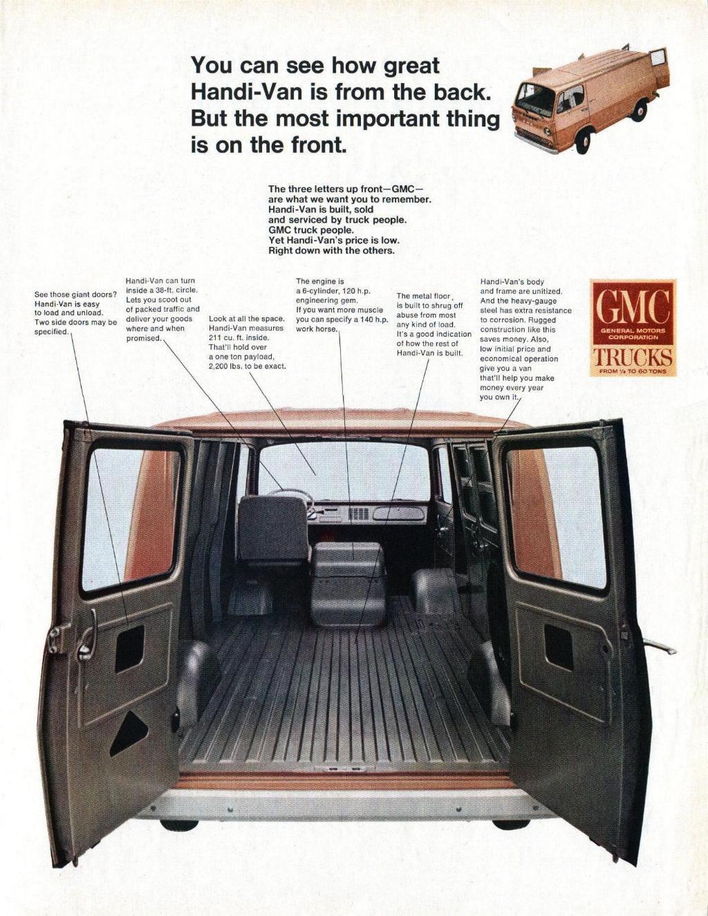 Gmc Period Pictures And Advertisements Handi Van 65 1 Jpg