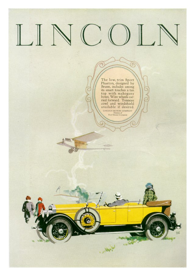 Lincoln Period Pictures - The Old Car Manual Project