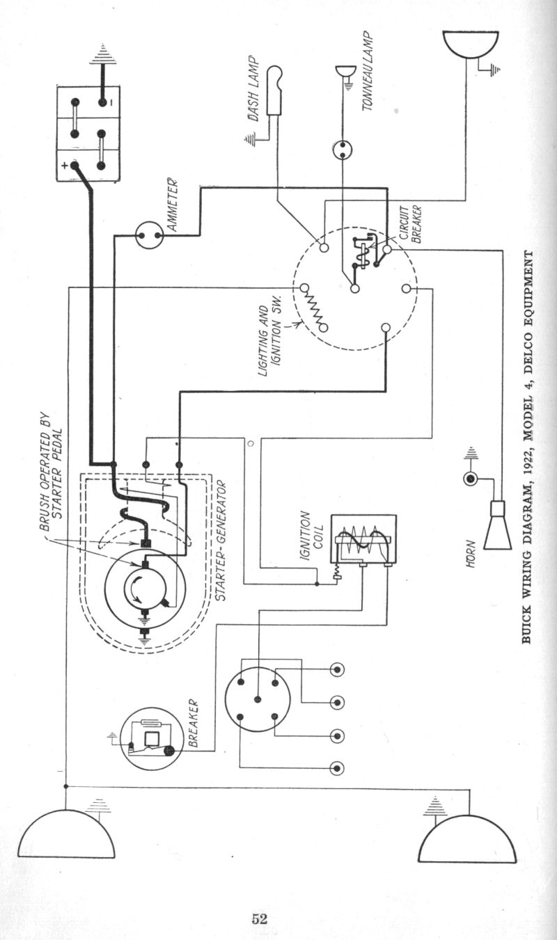 wiring diagram for 1923 24 buick model 4 wiring diagram data val