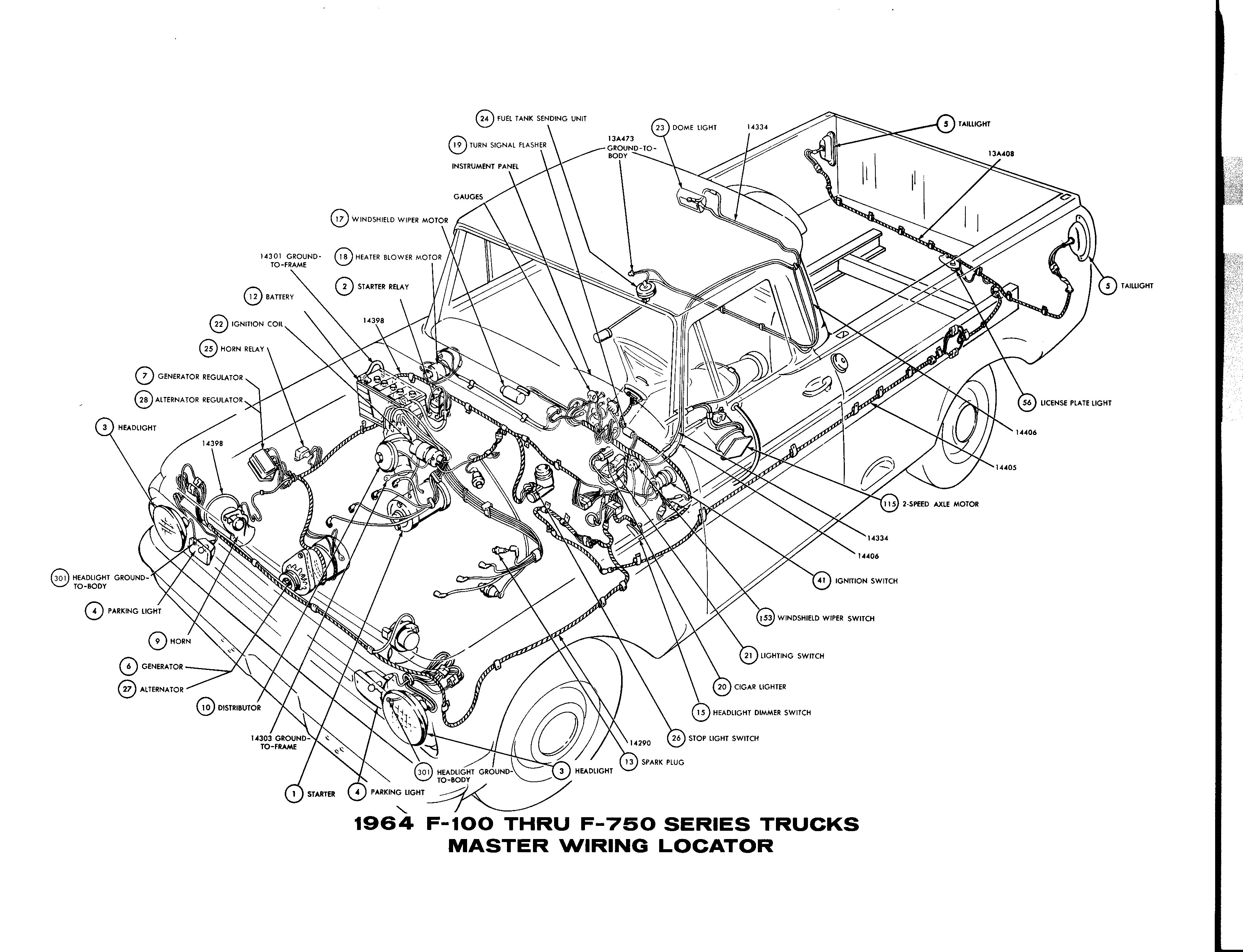 1960 chevy truck wiring diagram