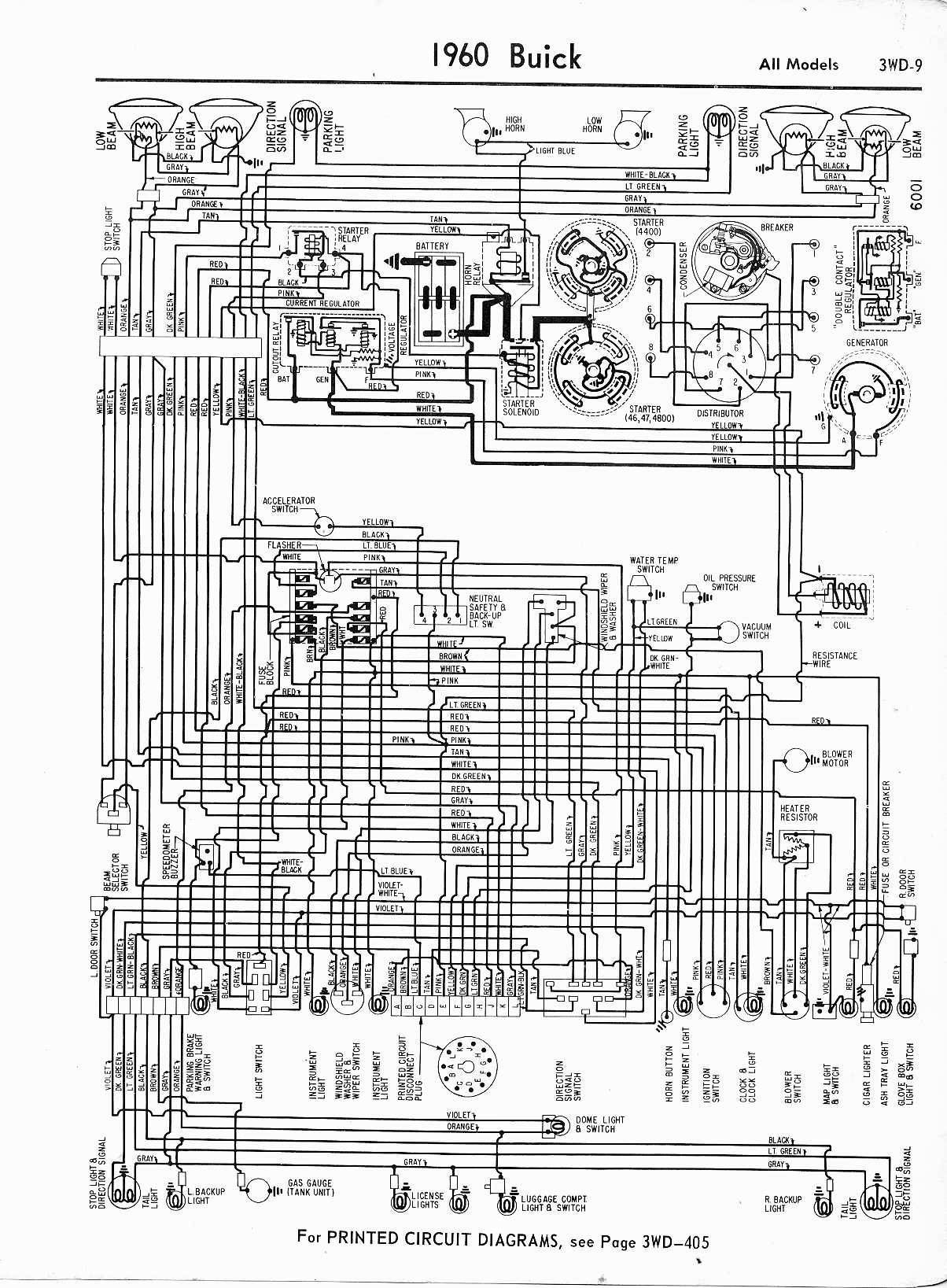 Buick Wiring Diagrams 1957 1965 Of 1958 Plymouth V8 All Models 1960