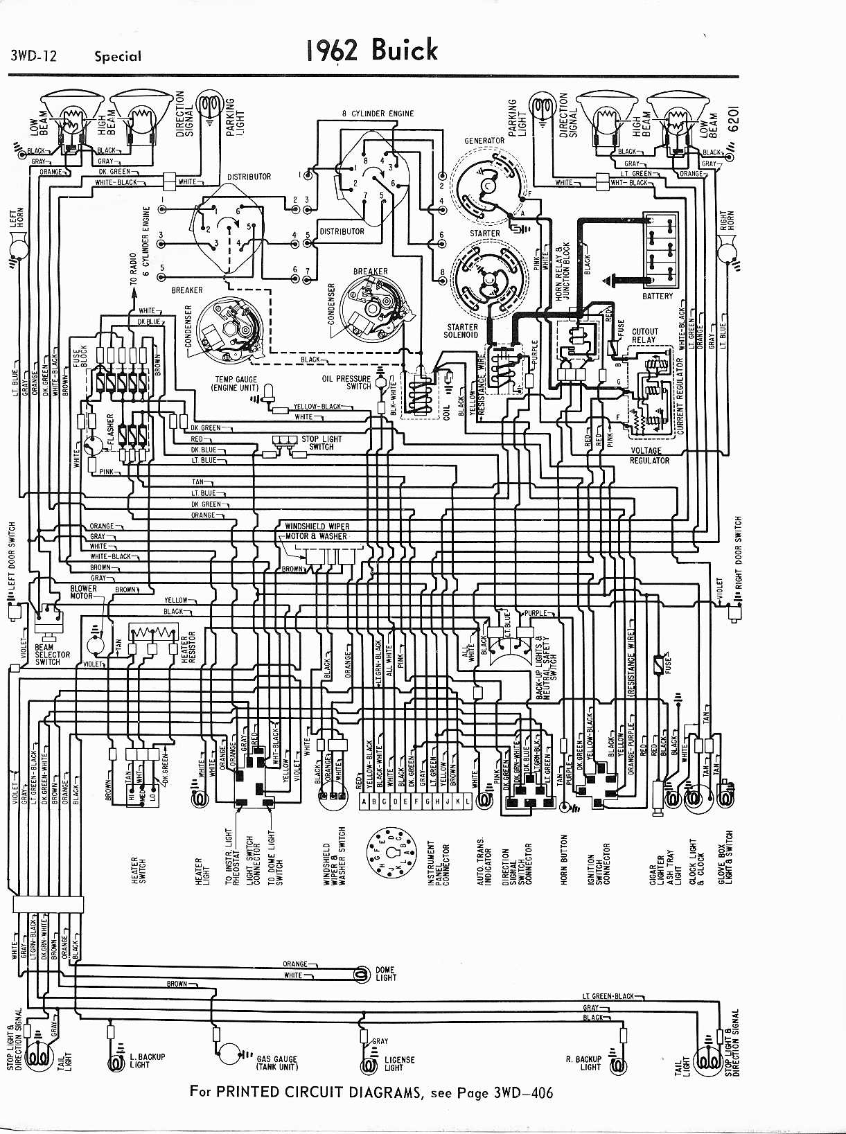 buick wiring diagrams: 1957-1965 1979 xs1100 wiring diagram free picture schematic