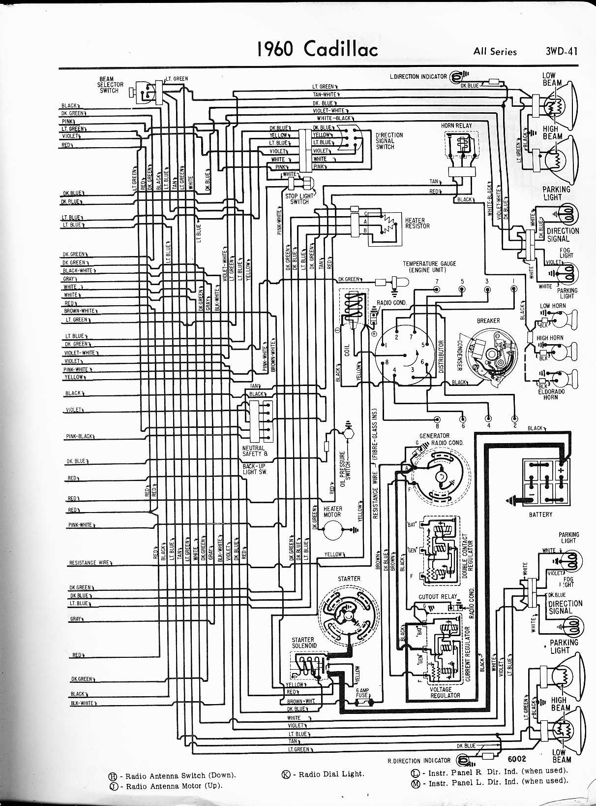 Diagram  2001 Cadillac Deville Wiring Diagram Full