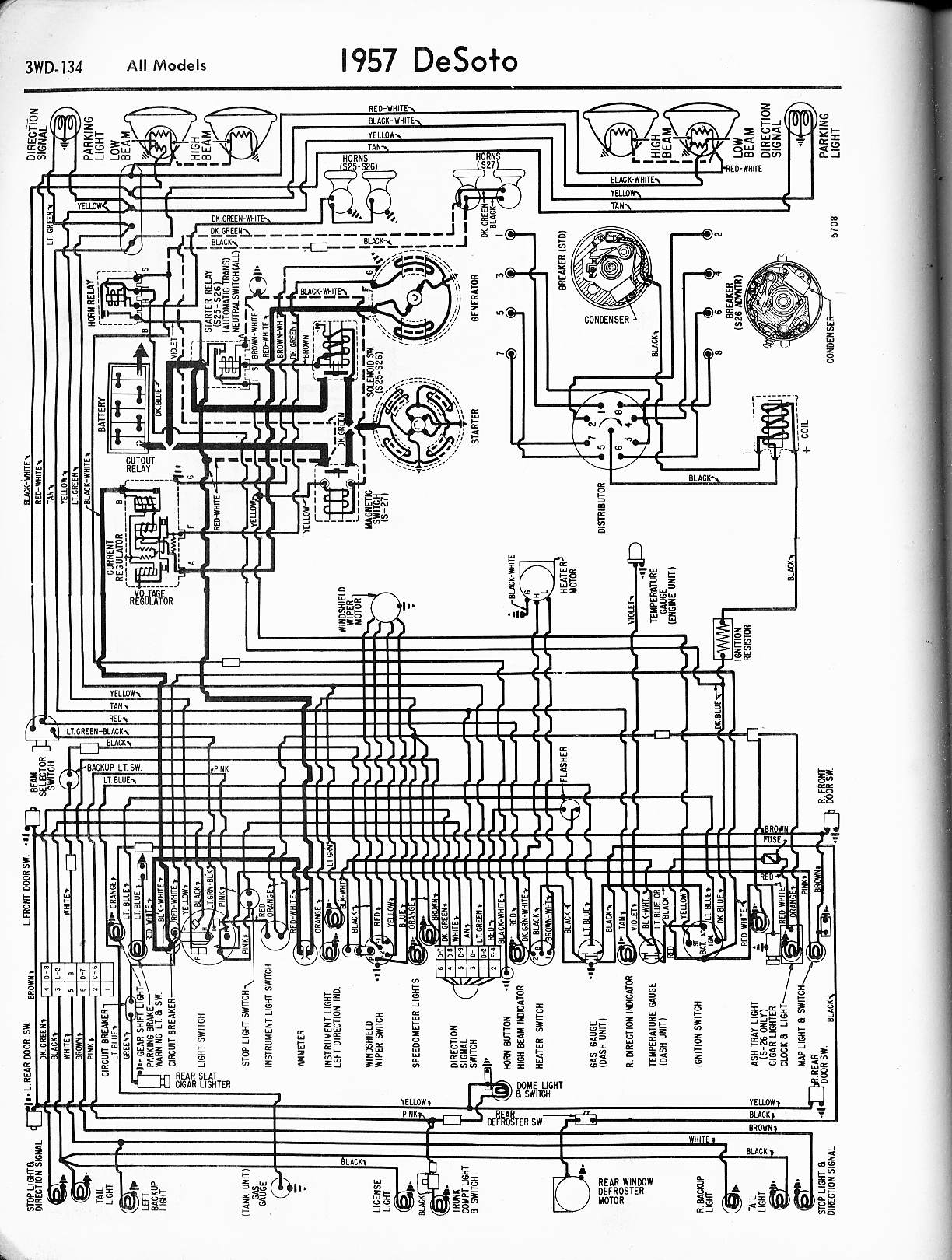 de Soto Wiring Diagrams 1957 1965