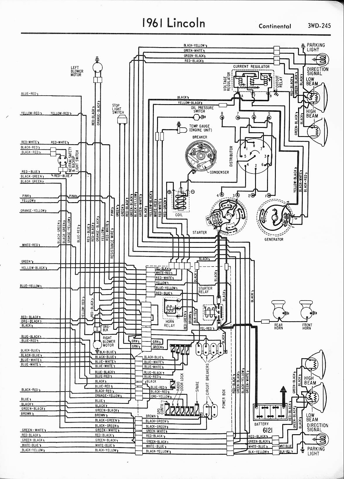 1972 lincoln wiring diagrams lincoln wiring diagrams: 1957 - 1965 1972 buick wiring diagrams automotive #3