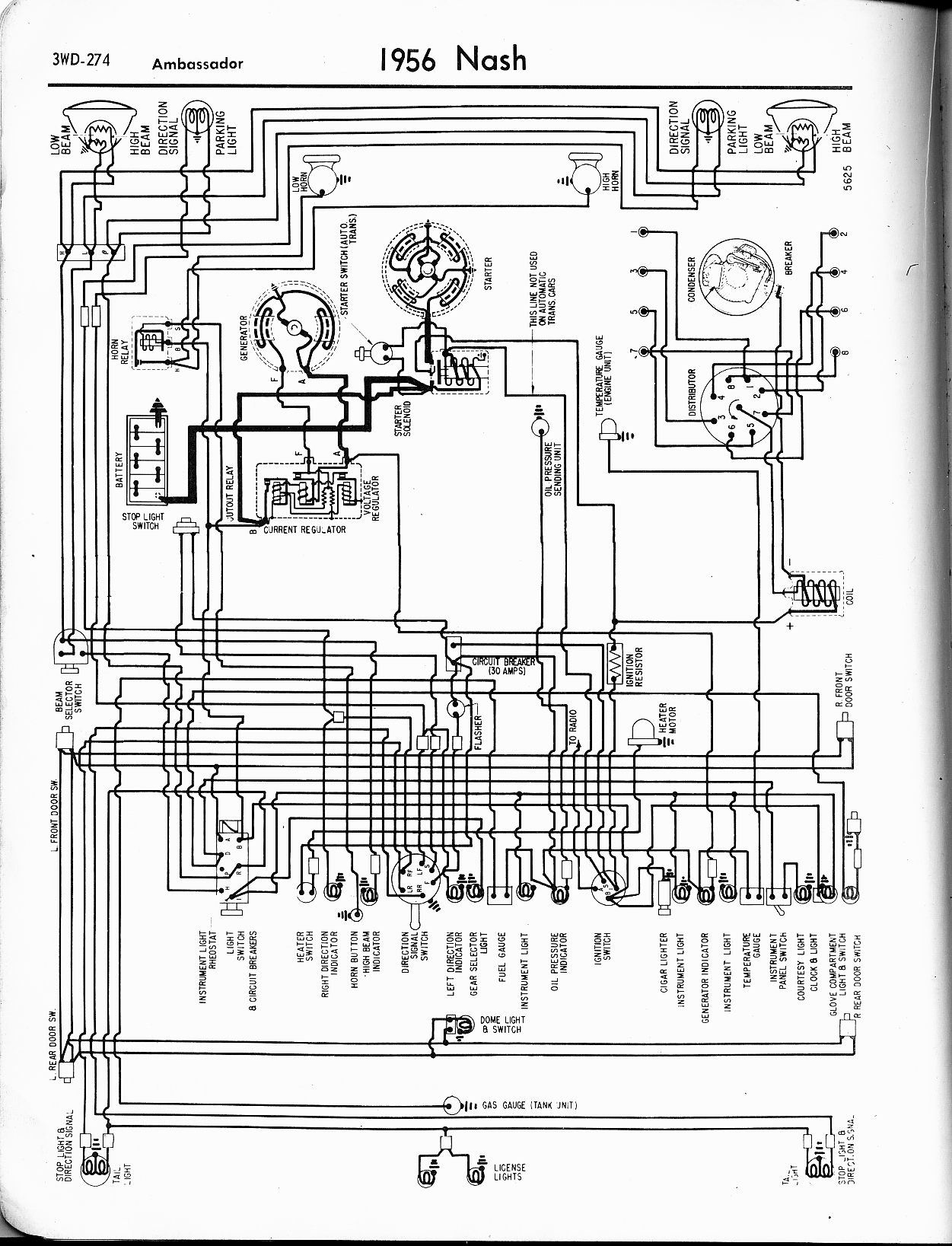 old car oldsmobile wiring diagrams automotive nash wiring diagrams - the old car manual project old outside light wiring diagrams