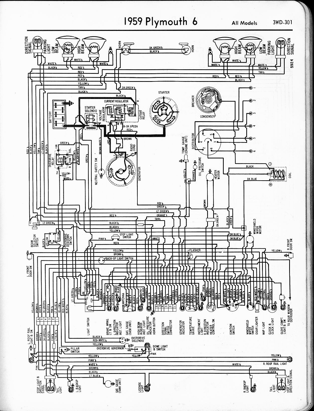 1958 Plymouth Wiring Diagram Reinvent Your Alfa Romeo 1956 1965 The Old Car Manual Project Rh Oldcarmanualproject Com Mopar Diagrams 1954