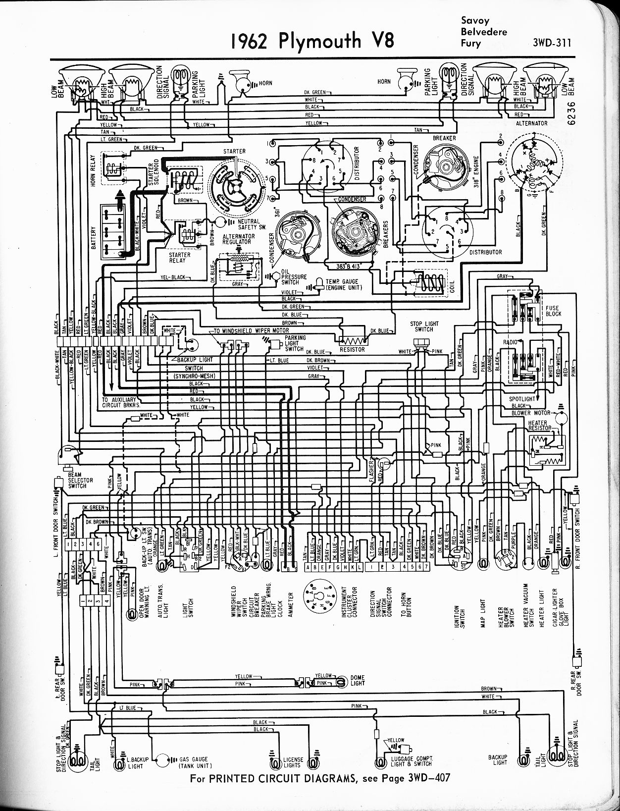 MWire5765 311 1956 1965 plymouth wiring the old car manual project 64 valiant wiring diagram at bayanpartner.co
