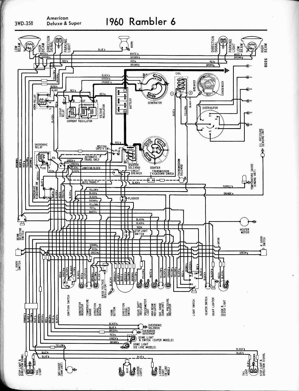 1969 amc rambler wiring diagram