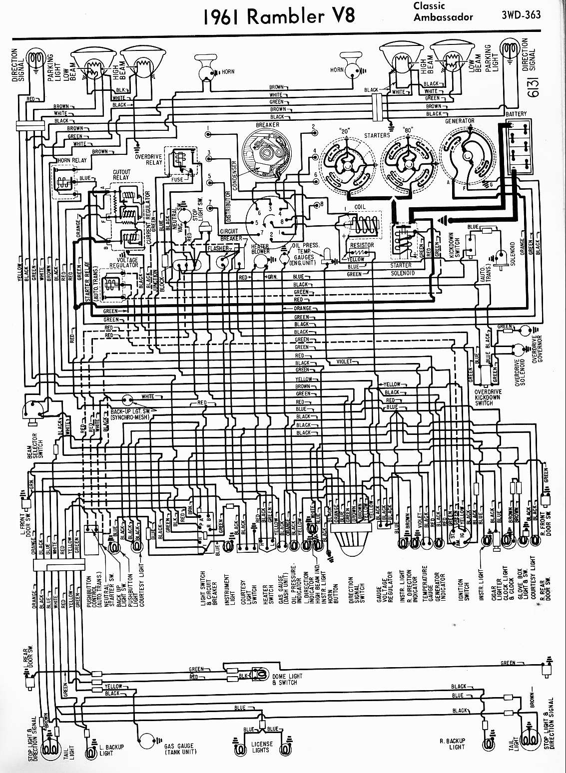 MWire5765 363 1962 rambler fuse box rambler convertible \u2022 wiring diagram 1961 Rambler at creativeand.co