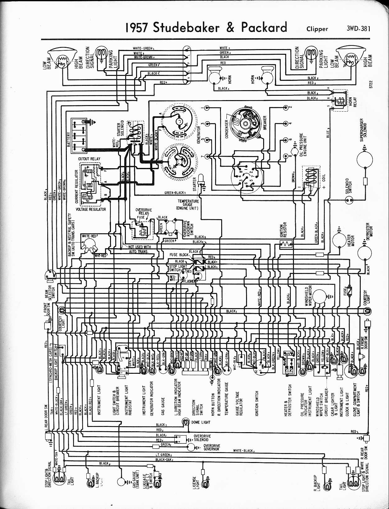 47 Ford Sedan Wiring Diagram Circuit Schematic Auto Harness Packard Diagrams The Old Car Manual Project Ranger