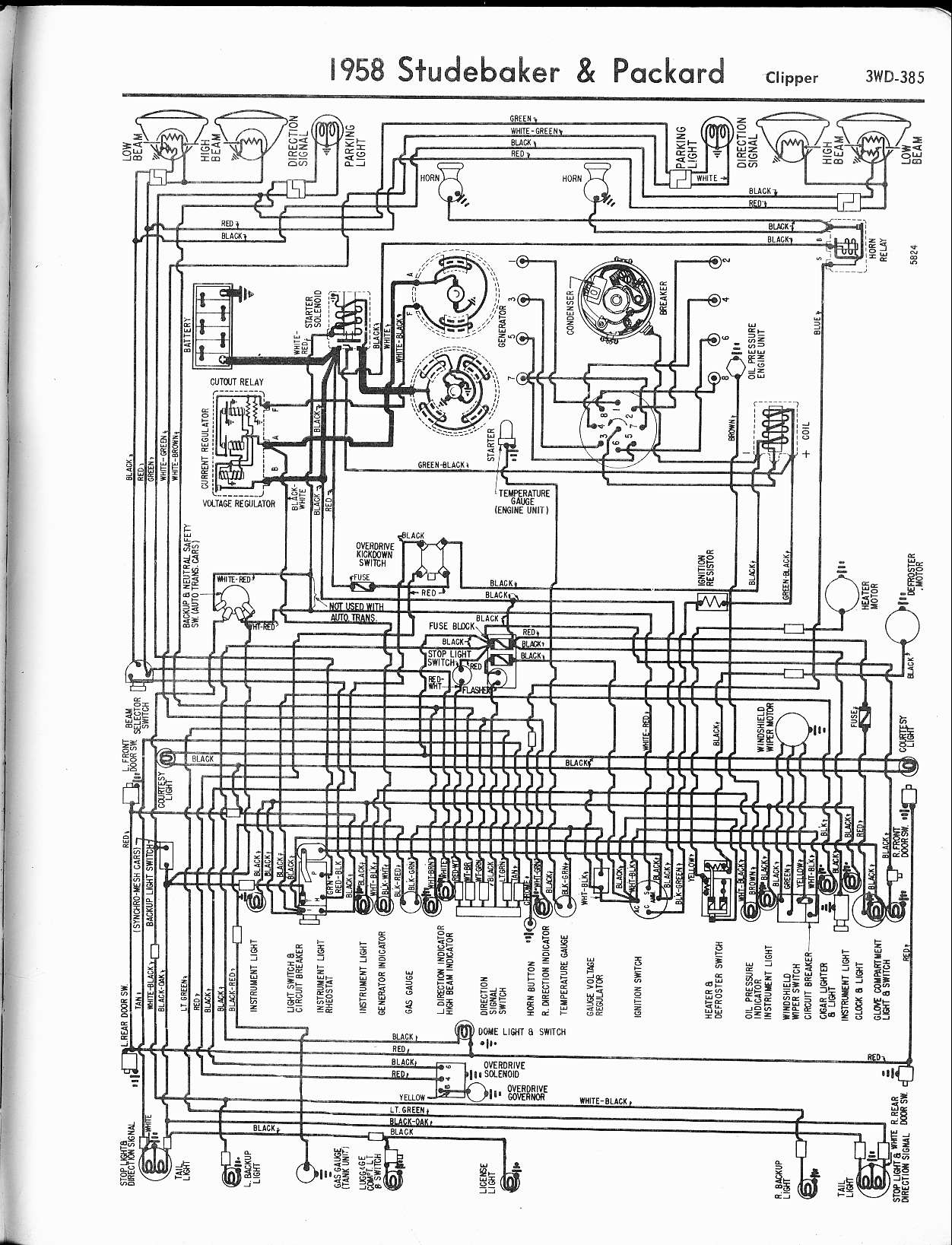 1949 packard wiring diagram wiring diagrams schematics rh woodmart co 2009 Club Car Wiring Diagram 2009 Club Car Wiring Diagram