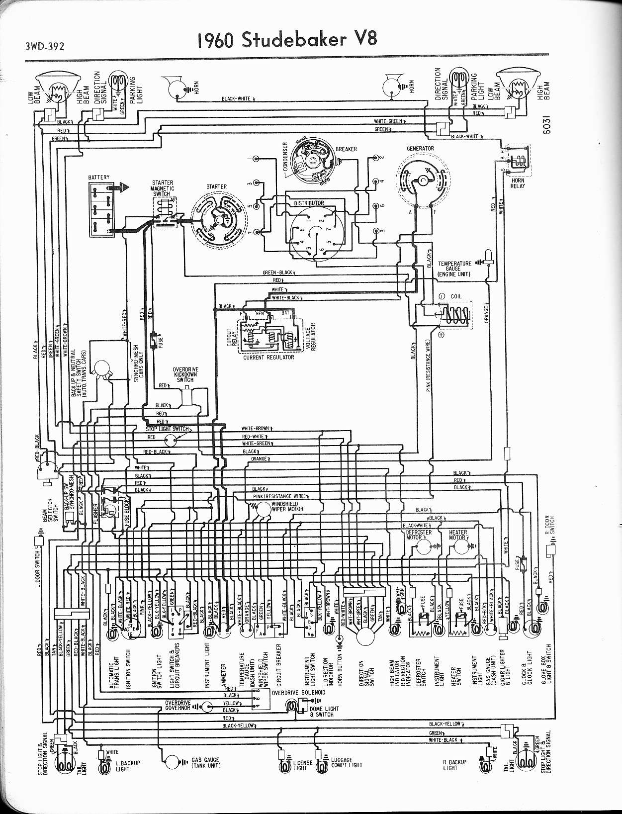 Wiring Diagram For 1960 Studebaker V8 Browse Data 1950 Chrysler Imperial Schematics Diagrams The Old Car Manual Project