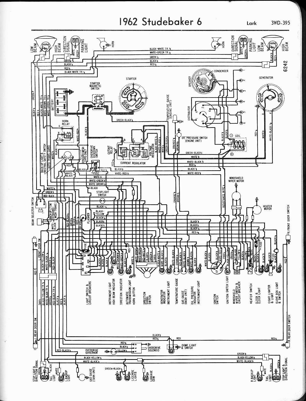 1963 studebaker hawk wiring diagram 1963 studebaker gran