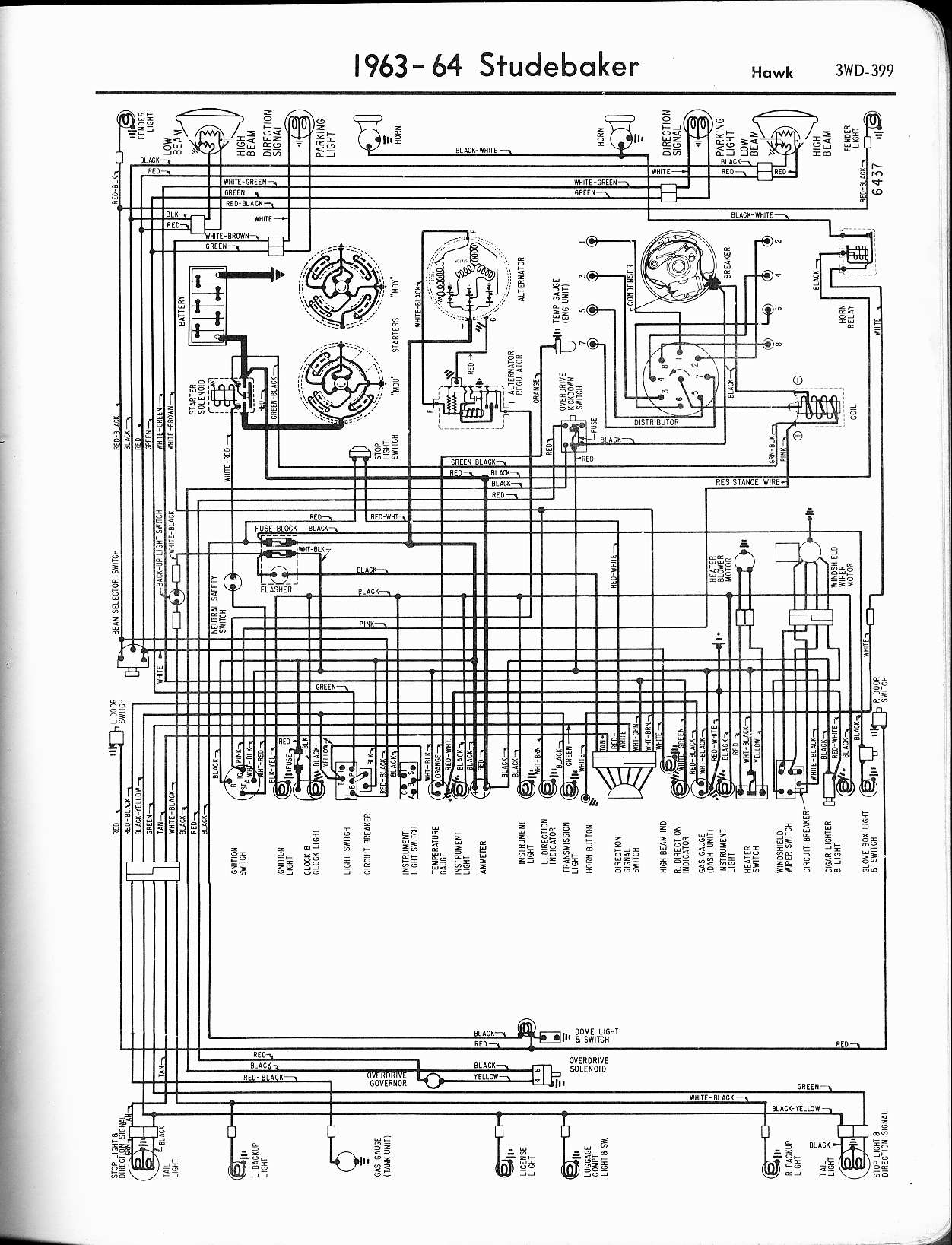 Wiring Diagram Mio Gt Experience Of For Fgc25n Studebaker Diagrams The Old Car Manual Project Rh Oldcarmanualproject Com Motion Sensor