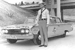 1963 ford patrol car