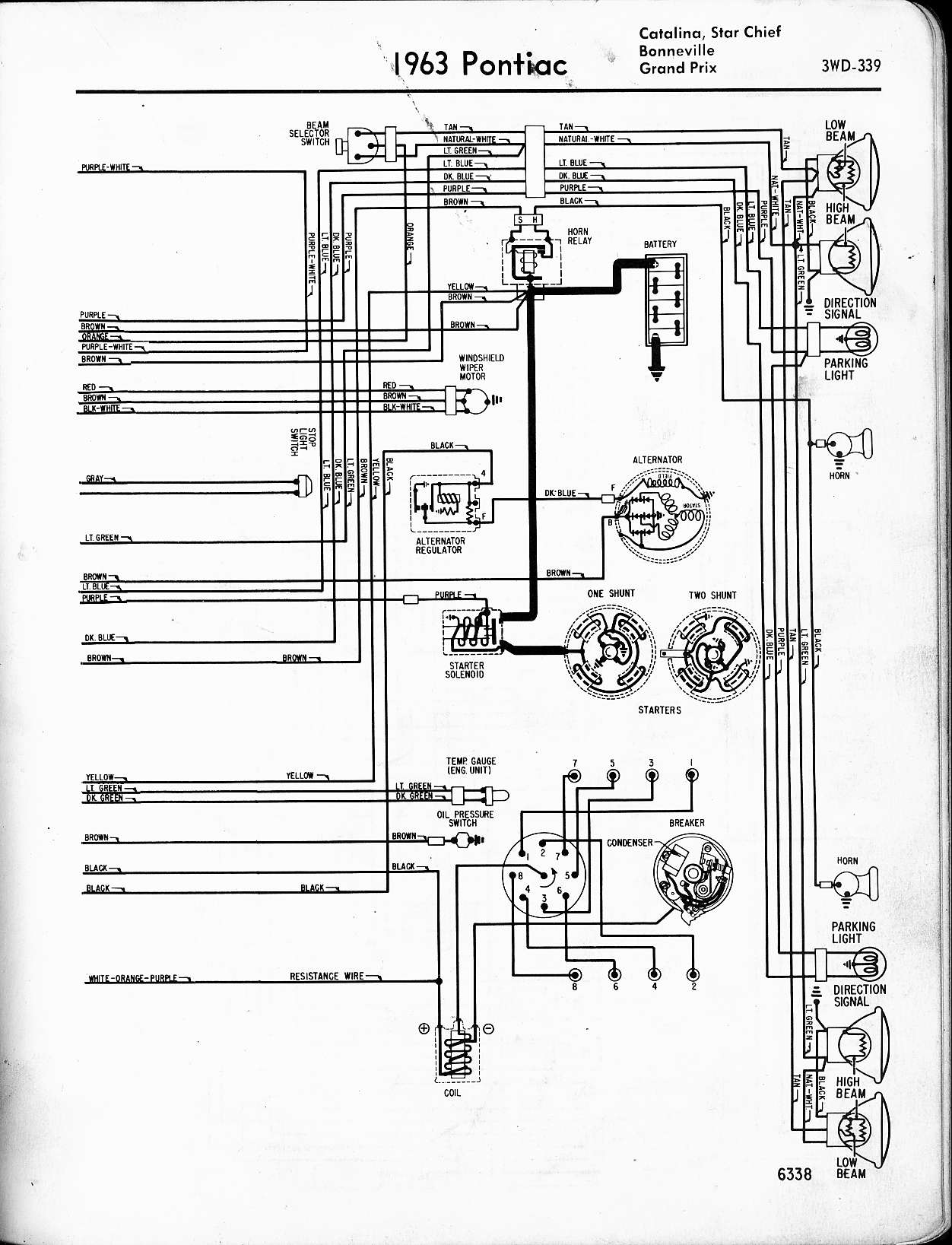 1964 pontiac grand prix vacuum diagram