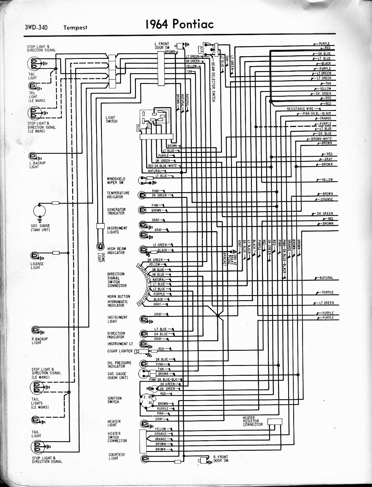 1964 pontiac gto wiring diagram wire center u2022 rh totalnutritiontampa com 1964 pontiac gto wiring diagram 1964 pontiac parisienne wiring diagram