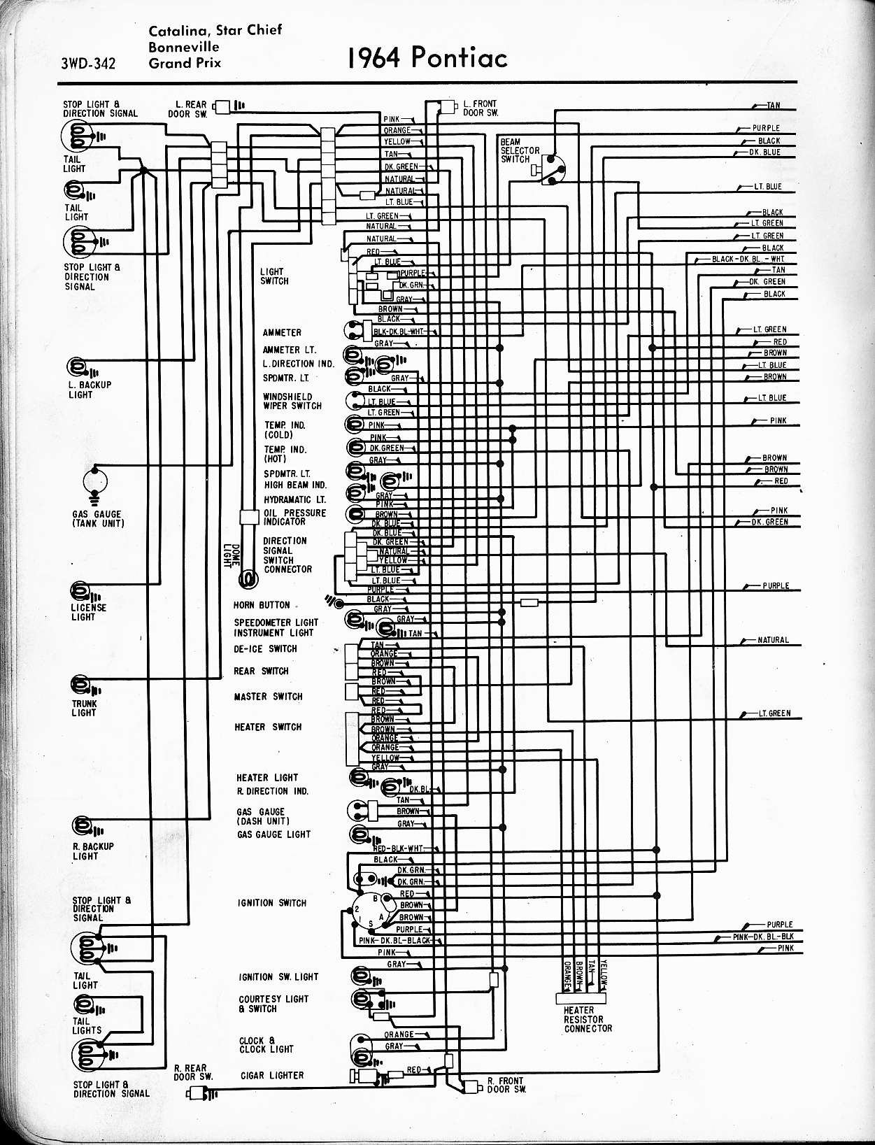 Wiring Diagram For Pontiac Bonneville Opinions About 99 Fuse Box 1957 1965 Rh Oldcarmanualproject Com 1999