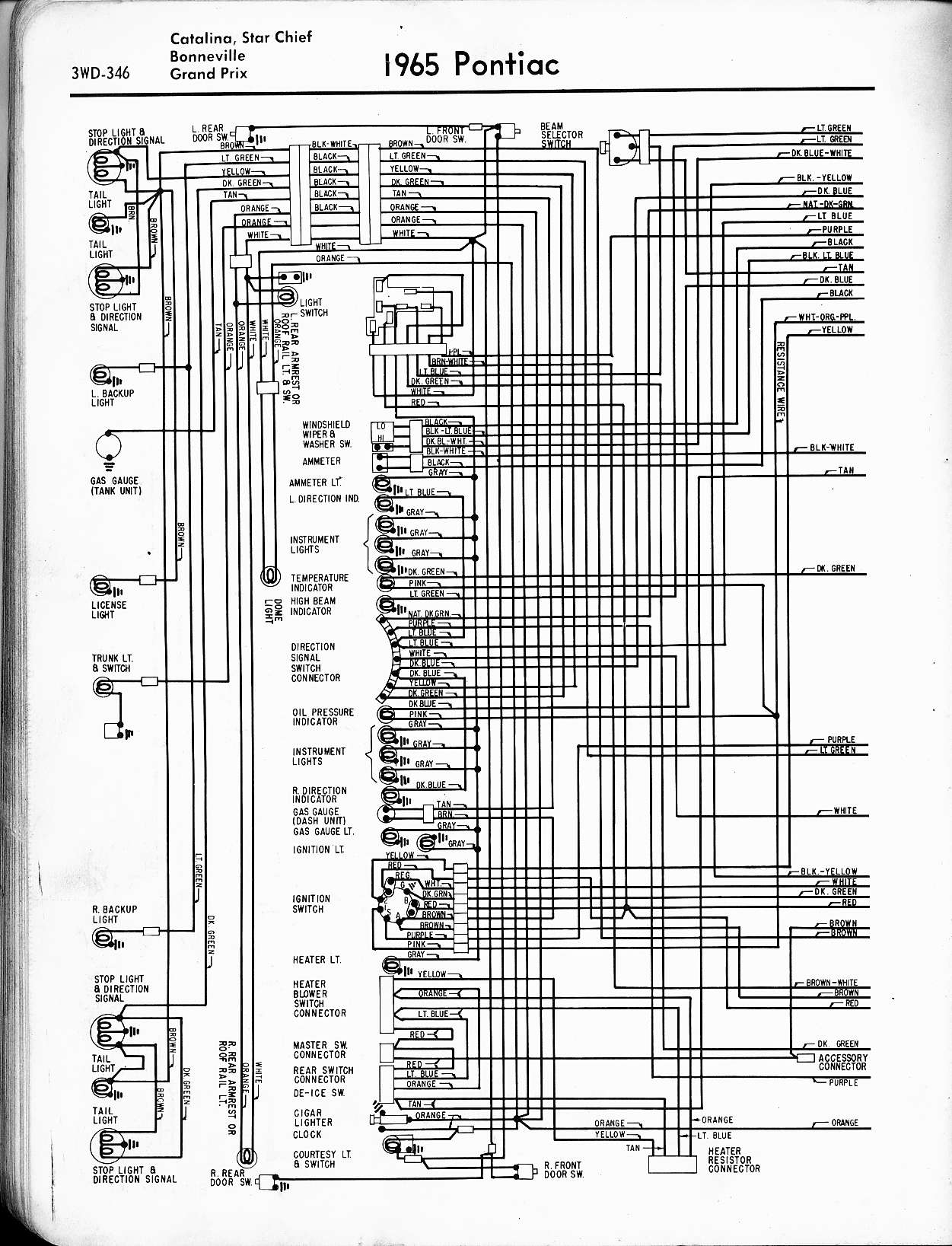1966 Grand Prix Wiring Diagram Free Download Wire Data Schema G6 Pontiac 1957 1965 Rh Oldcarmanualproject Com Chevy Truck